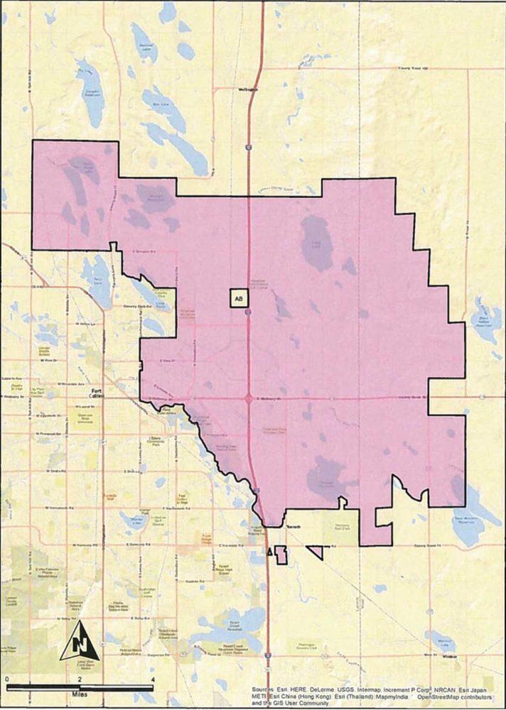 Denver Area Map